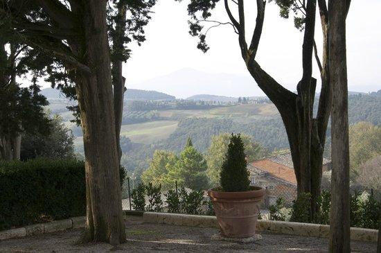 Villa Poggiano: A marvelous bucolic view!