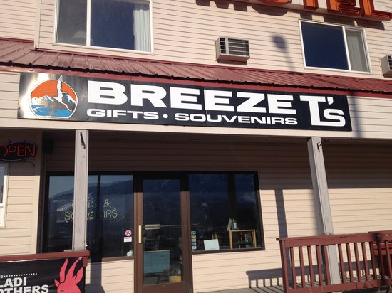 gift shop picture of the breeze inn seward tripadvisor. Black Bedroom Furniture Sets. Home Design Ideas