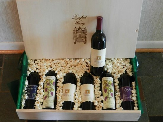 Lynfred Winery: Give a Crate of Wine