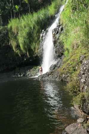 The Inn at Kulaniapia Falls: Waterfall Close up