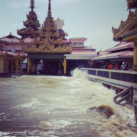 Santawshin Pagoda: Kyaik-Kha-Me pagoda, Mon State, Myanmar