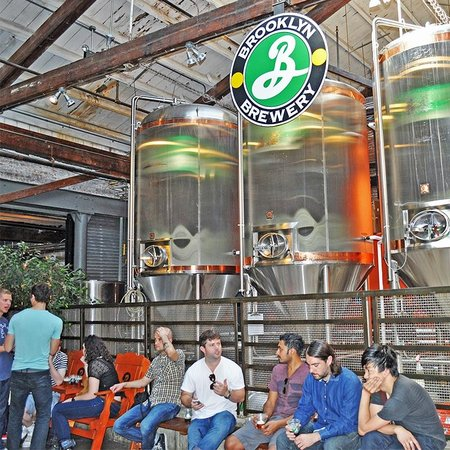 Like A Local Tours: Brooklyn Brewery on the Taste of Williamsburg tour.