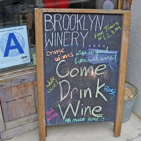 Like A Local Tours: Brooklyn Winery on the Taste of Williamsburg tour.