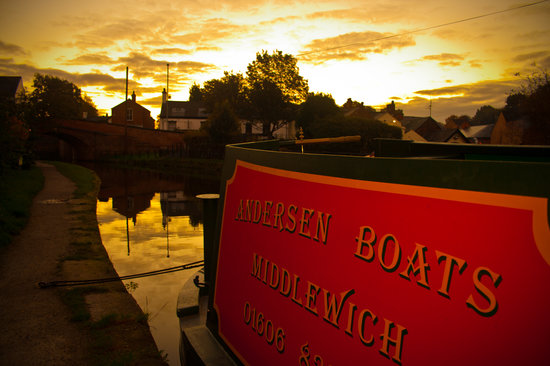Middlewich, UK: Andersen Boats - Day Hire & Holidays