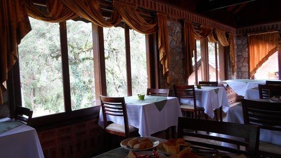Pousada Serras de Monte Verde: sala de café