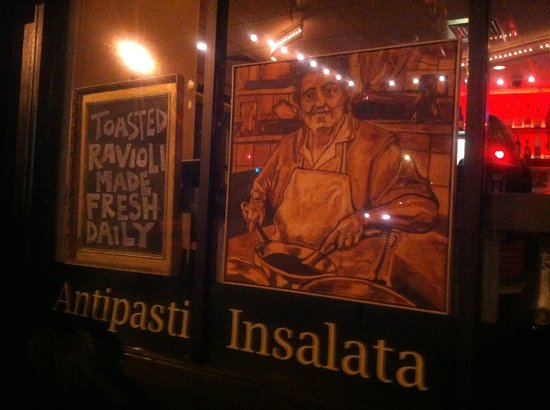 Outside Trattoria Marcella