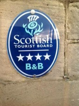 Shiloh Bed & Breakfast: Scottish Tourist Board Rating