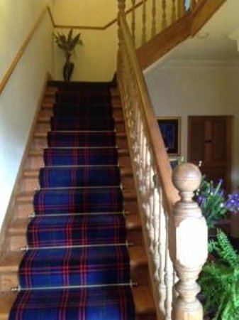 Shiloh Bed & Breakfast: Stairs rising to the first floor