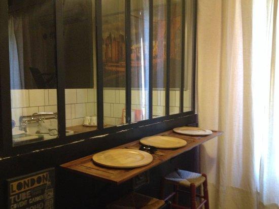 Apartamentos Santa Barbara 12: Angolo cottura monolocale