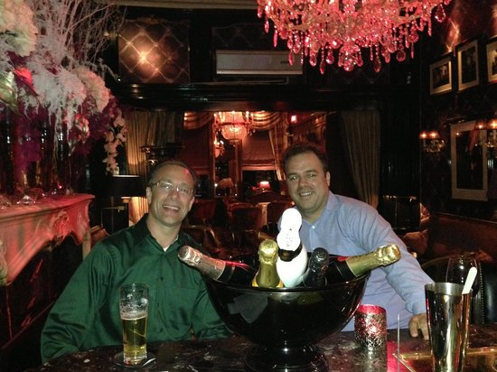 The Toren : Me and my buddy hanging at the bar one evening