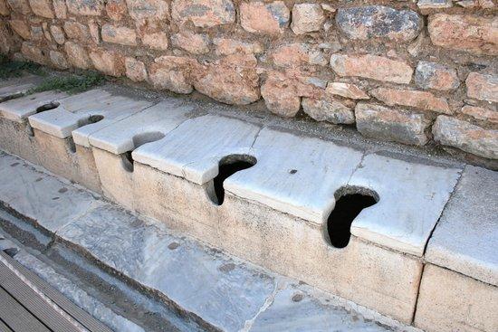 Antigua ciudad de Efeso: ASEOS PUBLICOS