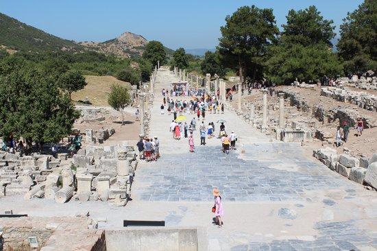 مدينة أفسس القديمة: VIA ARCADIANA