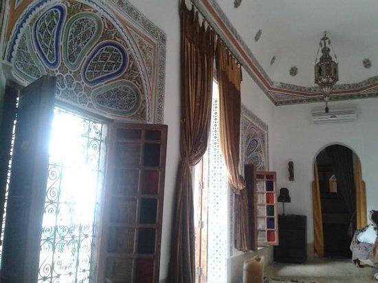 Riad Dar Oulhoum: Tür und Fenster unseres Zimmers