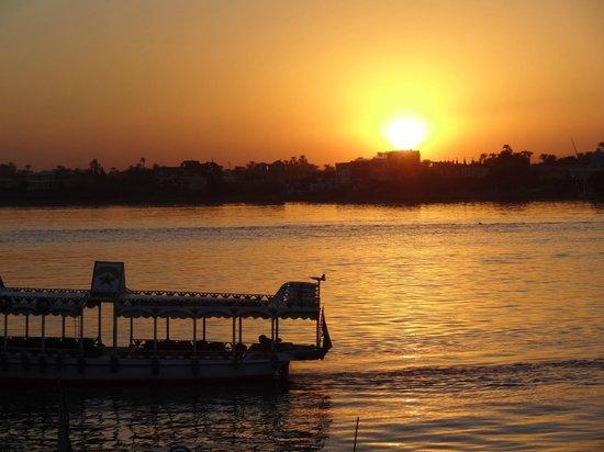 Iberotel Luxor: Por do Sol
