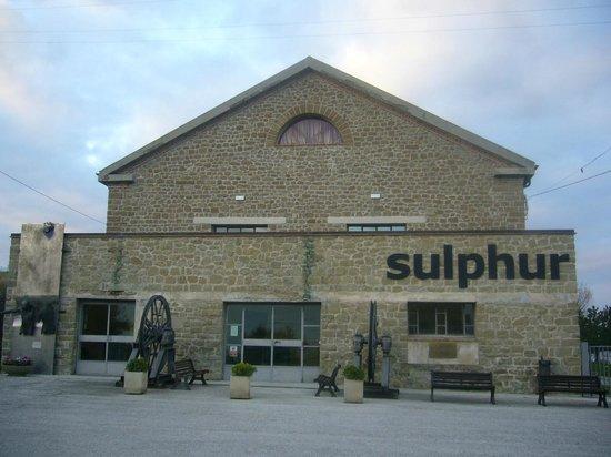 Perticara, Italia: Sulphur