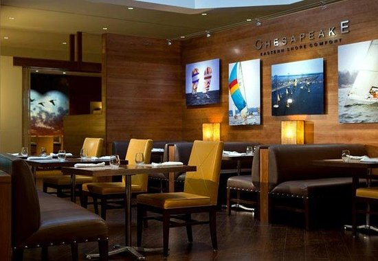 BWI Airport Marriott: Chesapeake Restaurant
