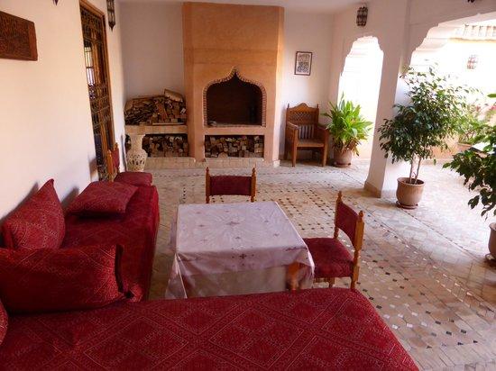 Riad Tayba: Une terrasse