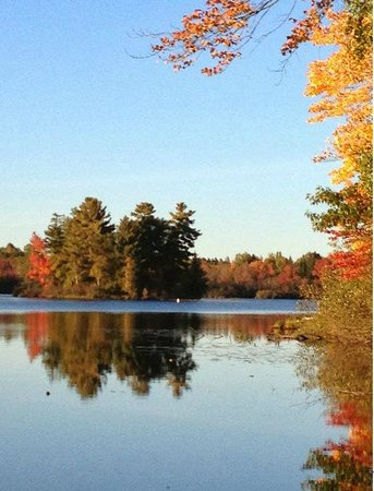 Fall at Holiday Acres Resort Rhinelander, WI