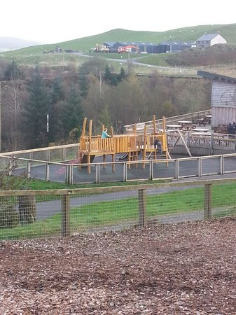 Bwlch Nant yr Arian Forest Visitor Centre: Bottom playground - there's two