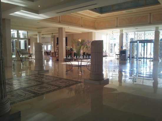 Golden Tulip Carthage Tunis : Ingresso Hall
