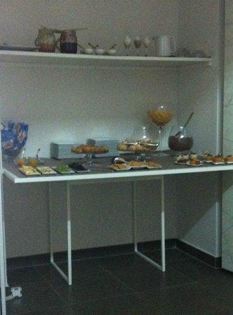 Hotel Santa Brigida: PARTE della colazione