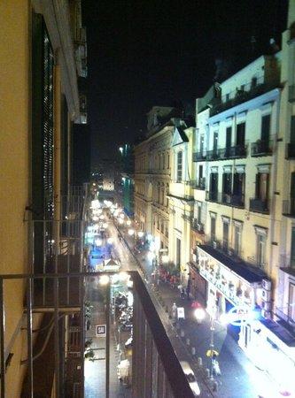 Hotel Santa Brigida: Panorama dal terrazzino