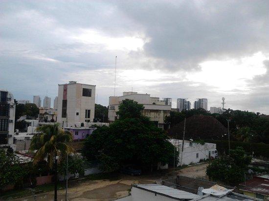 Hostel Mundo Joven Cancun: Vista desde la habitación