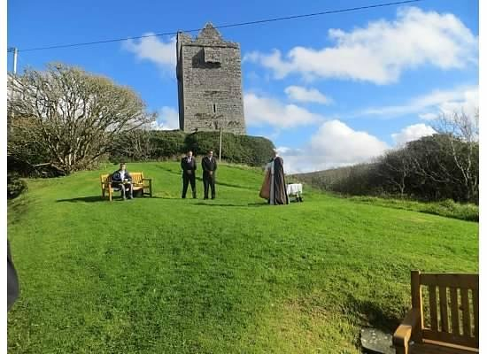 Ballinalacken Castle Country House: Beautiful views for our ceremony
