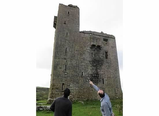 Ballinalacken Castle Country House: Private tour and history of the castle.