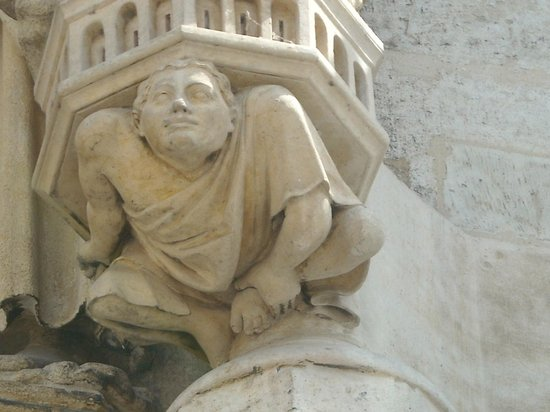 Cathédrale Notre-Dame d'Amiens : particolare