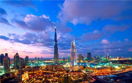 Dubai, United Arab Emirates: Dowtown Burj Khalifa