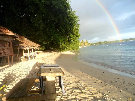 Satuiatua Beach Resort: Rainbow