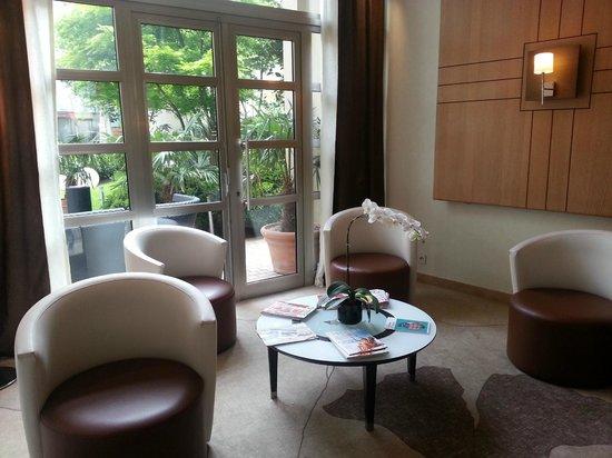 Hôtel Ampère Paris : Lobby