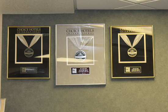 Quality Inn near Fort Riley: Choice Hotels International Awards