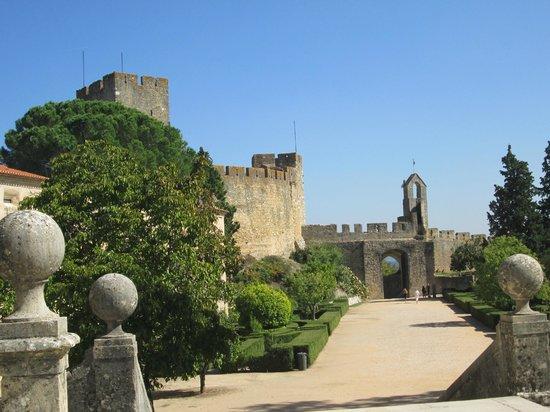 Castelo de Tomar: giardini del castello
