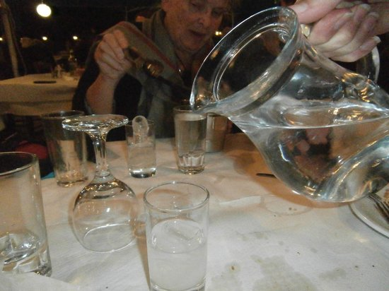 The Captain's Table: Ouzo
