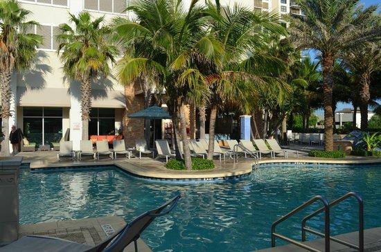 Marriott's Oceana Palms : pool area