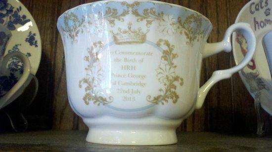 Carry on Tea & Sympathy : Prince George cup.