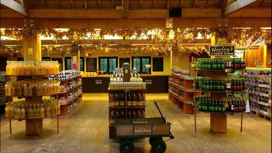 Healey's Cornish Cyder Farm: The shop