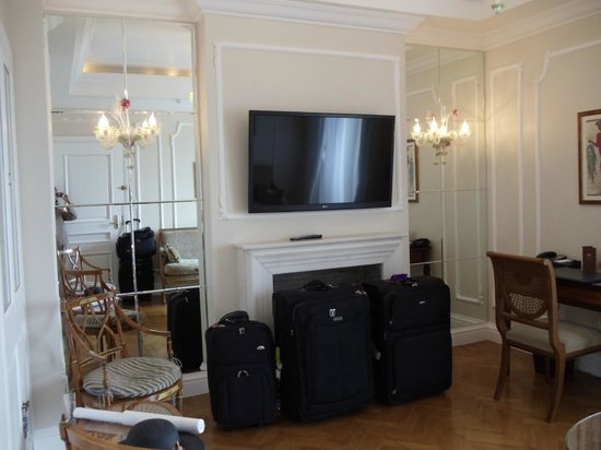 King George, A Luxury Collection Hotel: Grand Suite - Living room