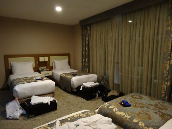 Yasmak Comfort Hotel: chambre pour 4 - yasmak comfort