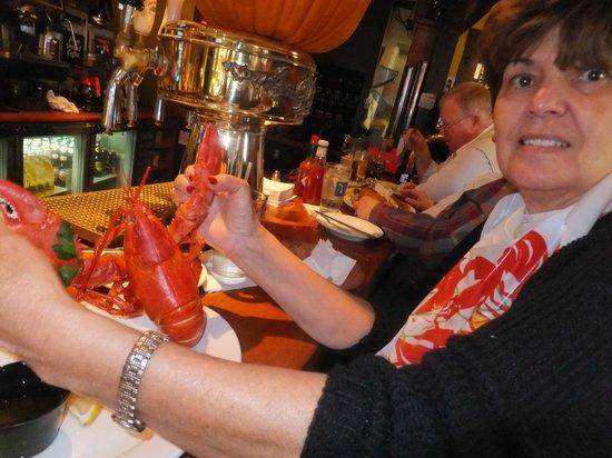 Benjamin's Restaurant and Raw Bar: 1 1/4 lb. lobster