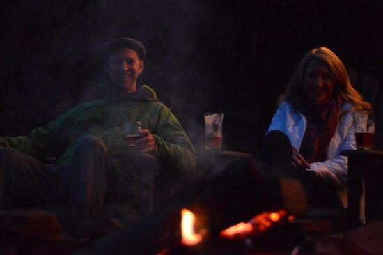 Savage River Lodge: campfire