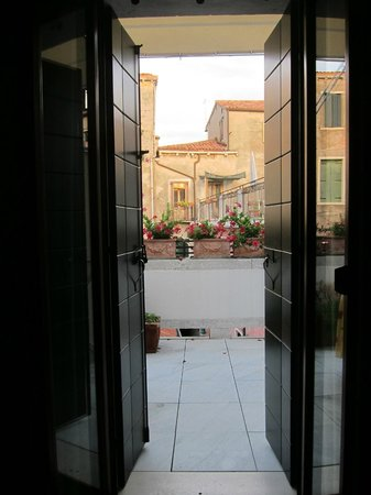 Hotel Bisanzio: Loved the balcony
