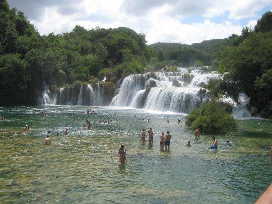 Krka National Park : cascate di krka