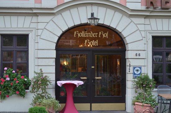 Hotel Holländer Hof: Perfect location