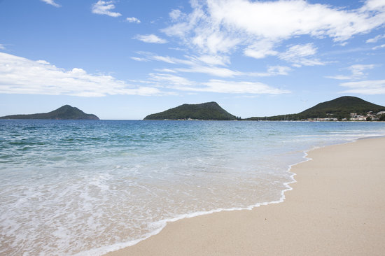 Port Stephens - Beautiful Shoal Bay Beach one of 26 beaches in the area