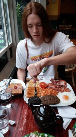 The  Coffee Mill Cafe: The Scottish breakfast