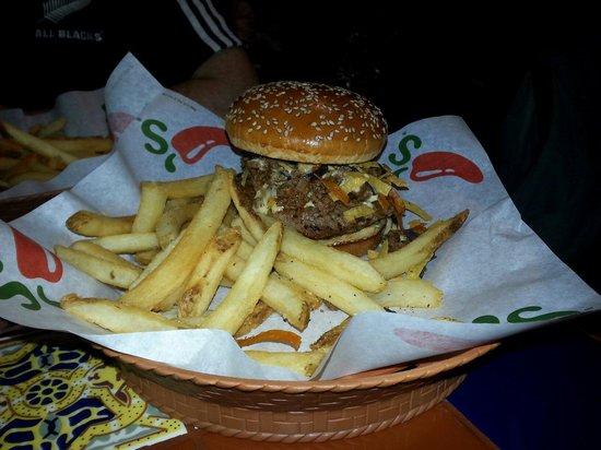 Chili's: Excelente hamburguesa!