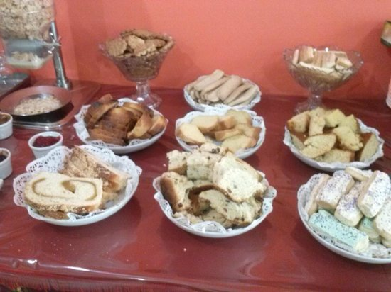San Vicente, Argentina: Desayuno regional